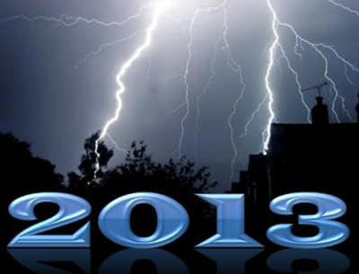 Hello-2013 - In a Lightning Storm