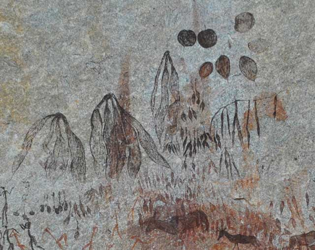 Bushman-Herbs-and-Spices-Rock-Painting-Wildmoz.com